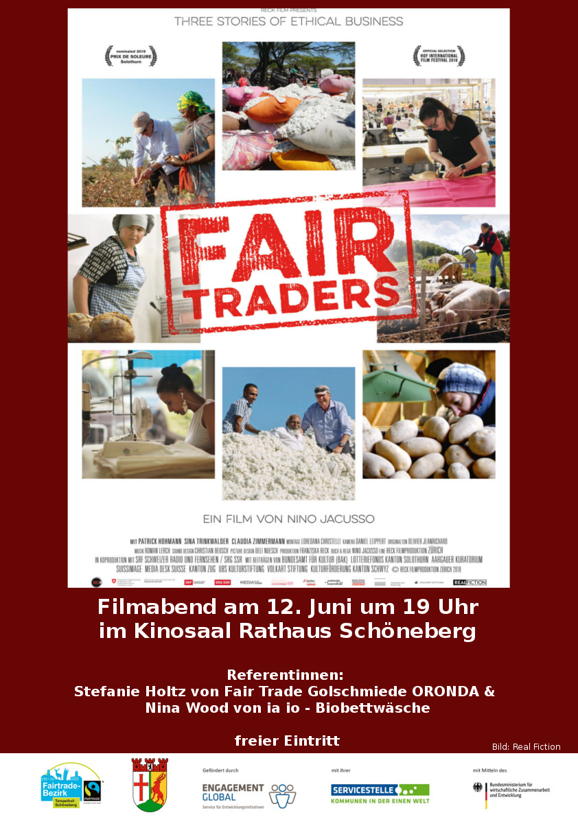Fair Traders Einladung